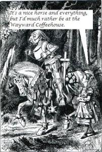 Alice looks for a Devil's Trap Mocha